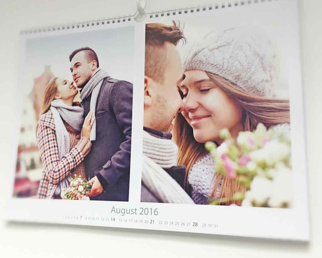 Calendar A3 Landscape inner page print mobile app